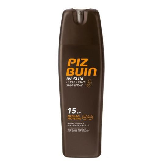 Piz Buin In Sun Ultra Light Sun Spray Mleczko do opalania w spray'u SPF 15