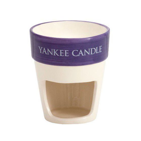 Yankee Candle Purple Plant Pot Kominek do wosków