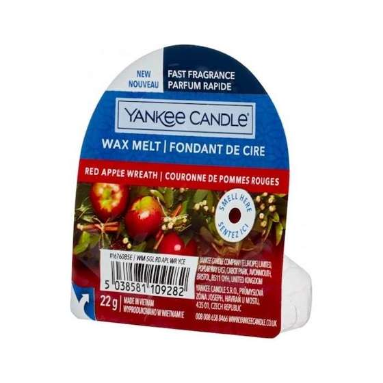 Red Apple Wreath WOSK Yankee Candle
