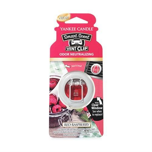 Red Raspberry CAR VENT CLIP Yankee Candle