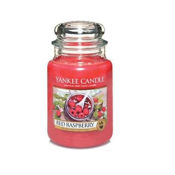 Red Raspberry - SŁOIK DUŻY Yankee Candle