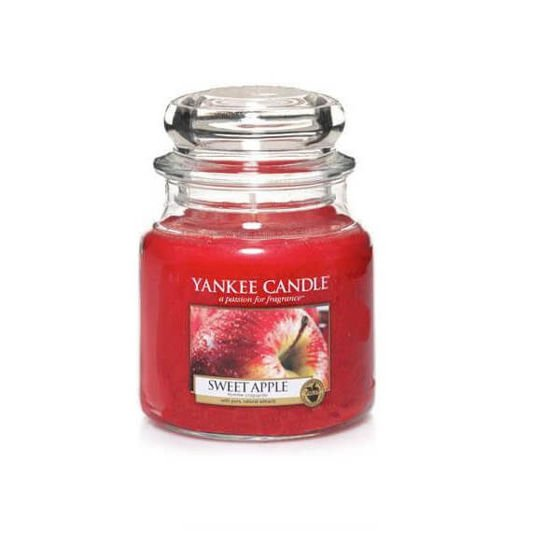 SWEET APPLE - SŁOIK ŚREDNI Yankee Candle