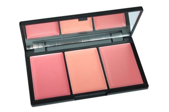 Sleek BLUSH BY 3 Paleta róży do policzków CALIFORNIA