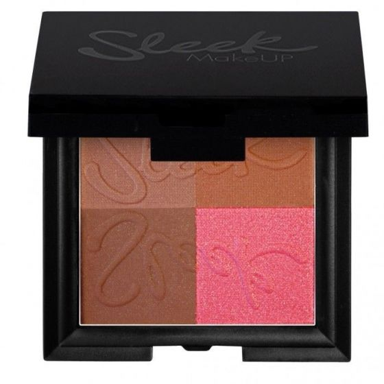 Sleek MakeUP BRONZE BLOCK Mozaika brązująca DARK