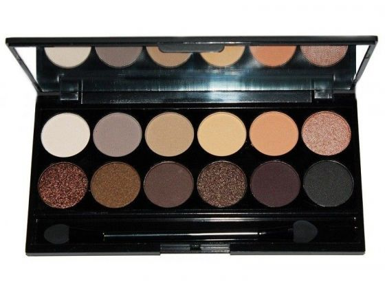 Sleek Makeup Au Naturel Paleta cieni