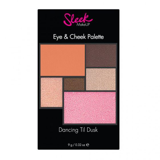 Sleek Makeup Eye & Cheek Dancing Til Dusk Paleta