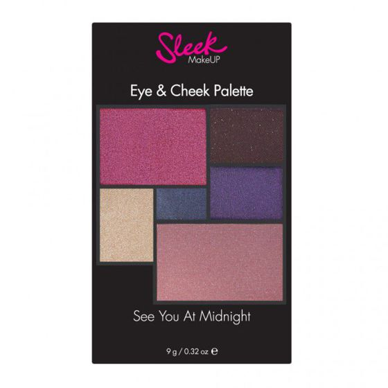 Sleek Makeup EYE & CHEEK See you at midnight PALETA