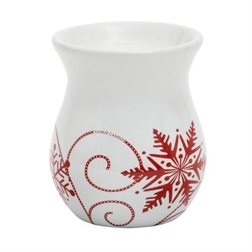 Snowflake Ceramic KOMINEK DO WOSKÓW Yankee Candle