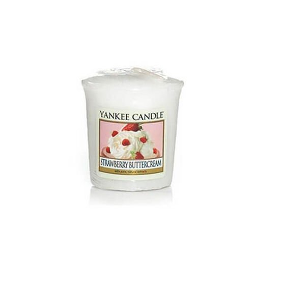 Strawberry Buttercream - SAMPLER Yankee Candle