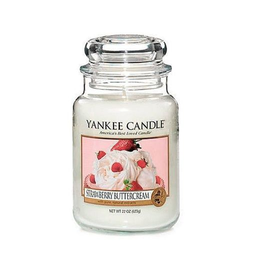 Strawberry Buttercream - SŁOIK DUŻY Yankee Candle