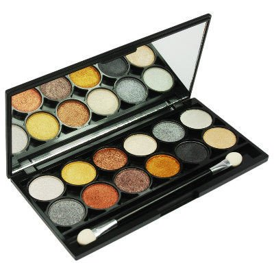 Technic Paleta 12 cieni Electric Eyes Palette Metalix