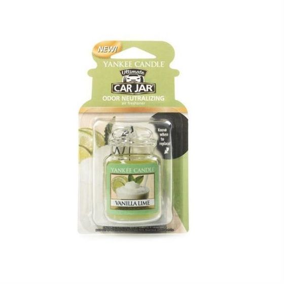 Vanilla Lime CAR JAR ULTIMATE Yankee Candle