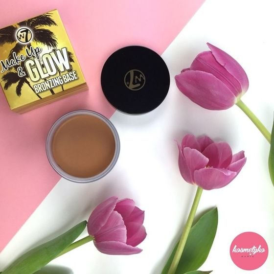 W7 Make Up & Glow bronzing base - żelowa baza bronzująca