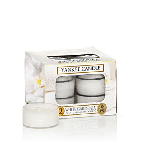 WHITE GARDENIA - TEA LIGHT Yankee Candle