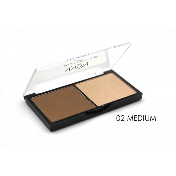 YURILY Face Contour Kit - paleta do konturowania MEDIUM