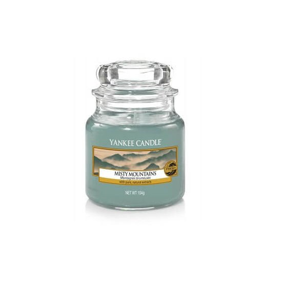 Yankee Candle  Misty Mountains Słoik Mały