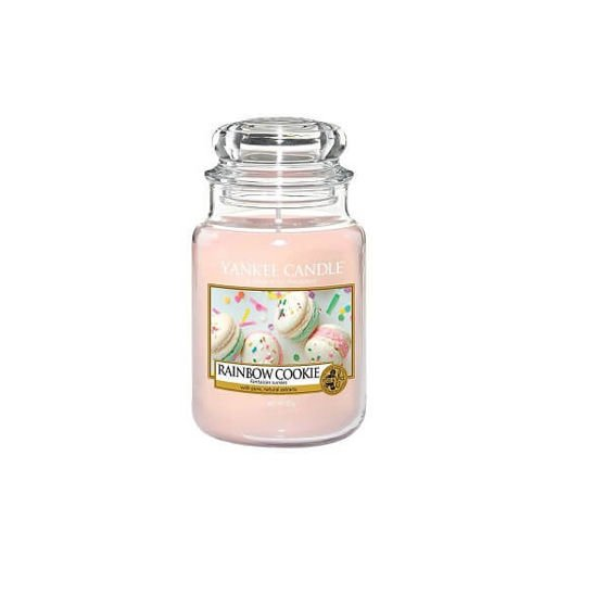Yankee Candle Rainbow Cookie Słoik Duży