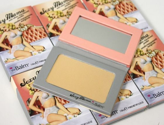 the Balm Sexy Mama anti-shine Transparentny Puder Matujący