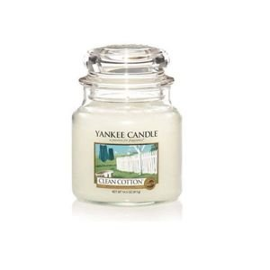 Yankee Candle Słoik Średni Clean Cotton