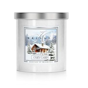 COZY CABIN Large Coloured Tumbler KRINGLE CANDLE 240g