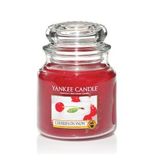 Cherries On Snow - SŁOIK ŚREDNI Yankee Candle