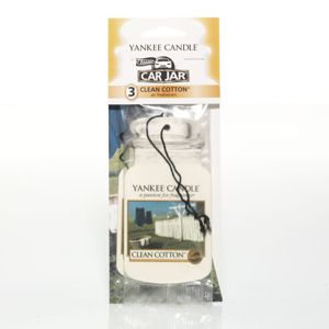 Yankee Candle Car Jar Clean Cotton Bonus Pack