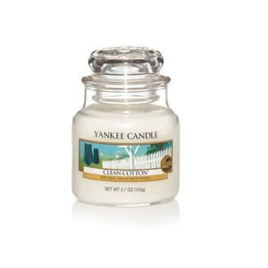 Clean Cotton - SŁOIK MAŁY Yankee Candle