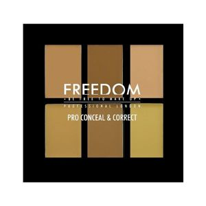 FREEDOM MAKEUP Pro Conceal Palette LIGHT/MEDIUM