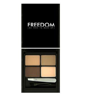 FREEDOM MAKEUP Zestaw do brwi Eyebrow LIGHT-MEDIUM