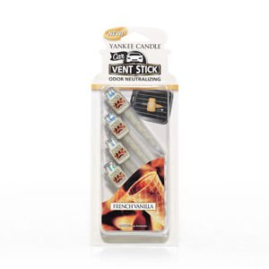 French Vanilla CAR VENT STICK Yankee Candle