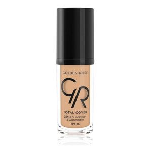 Golden Rose Total Cover 2 in 1 Podkład i korektor w jednym 04 Beige