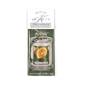 KRINGLE CANDLE Air Freshner CITRUS AND SAGE