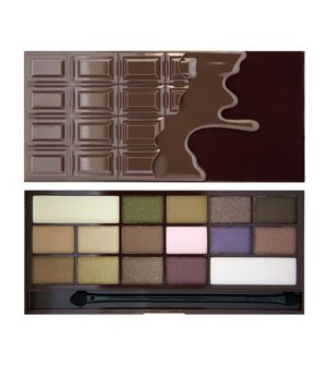 Makeup Revolution I Heart Chocolate Paleta 16 cieni do powiek