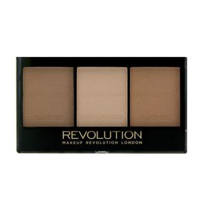 MAKEUP REVOLUTION Sculpt & Contour Kit Zestaw do konturowania twarzy LIGHT MEDIUM C04