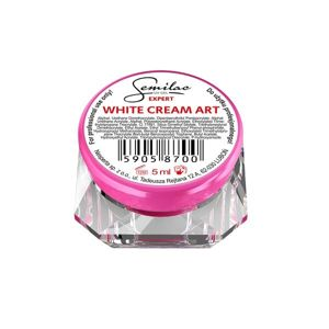 SEMILAC UV Gel Expert White Cream Art 5ml