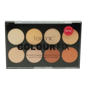 TECHNIC Colour Fix Pressed Powder contour palette PALETA DO KONTUROWANIA