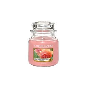 Yankee Candle Sun-Drenched Apricot Rose Słoik Średni