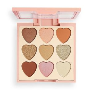 makeup revolution paleta cieni heart breakers majestic